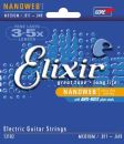Elixir Nanoweb Coating Medium Electric Guitar Strings 11-49